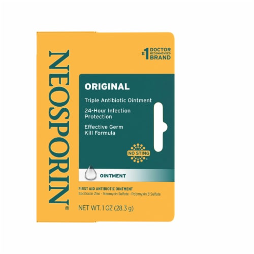 Neosporin Original First Aid Antibiotic Ointment Perspective: front