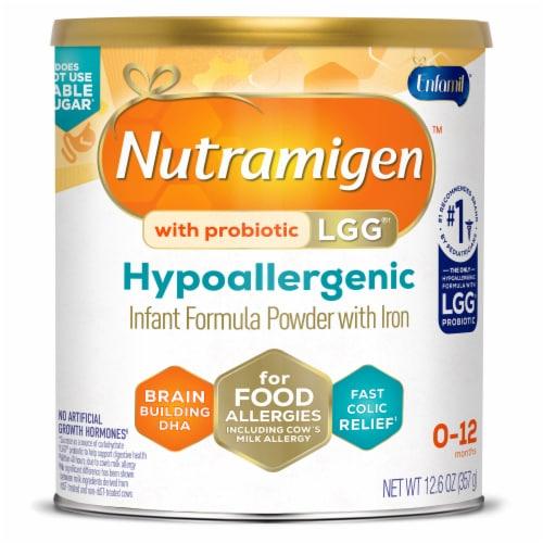 Enfamil Nutramigen Hypoallergenic Infant Formula Powder with Enflora LGG Perspective: front