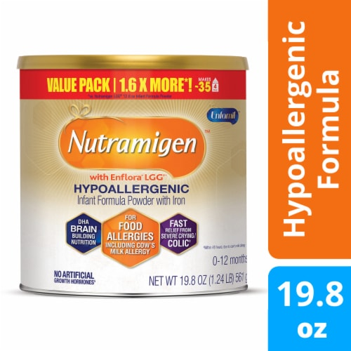 Enfamil Nutramigen with Enflora LGG Infant Formula Powder Perspective: front
