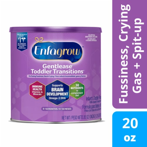 Enfagrow Gentlease Infant & Toddler Transitions Baby Formula Perspective: front