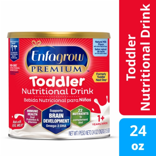 Enfagrow Premium Toddler Next Step Natural Milk Drink Perspective: front