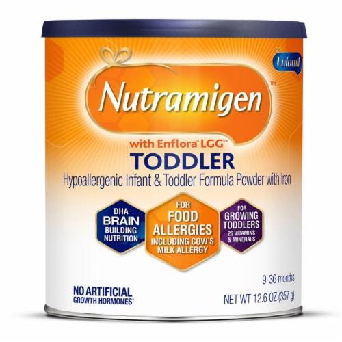 Enfamil Nutramigen Hypoallergenic Infant & Toddler Formula Powder Perspective: front