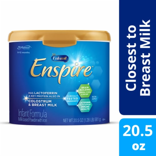 Enfamil Enspire Infant Formula Powder with Iron Perspective: front