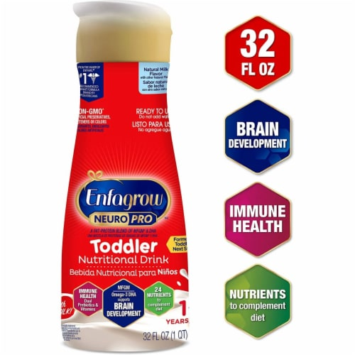 Enfamil Enfagrow NeuroPro Toddler Nutritional Milk Drink Perspective: front