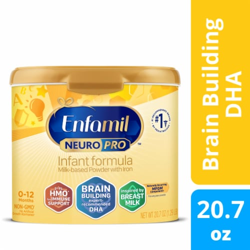 Enfamil Neuropro Non-GMO Infant Formula Powder with Iron Perspective: front