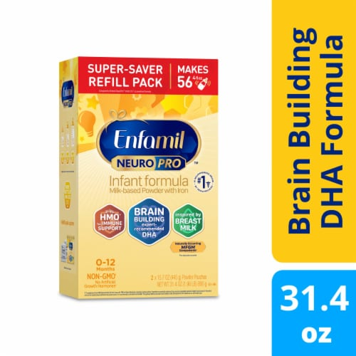 Enfamil NeuroPro Non-GMO Infant Formula Powder Perspective: front