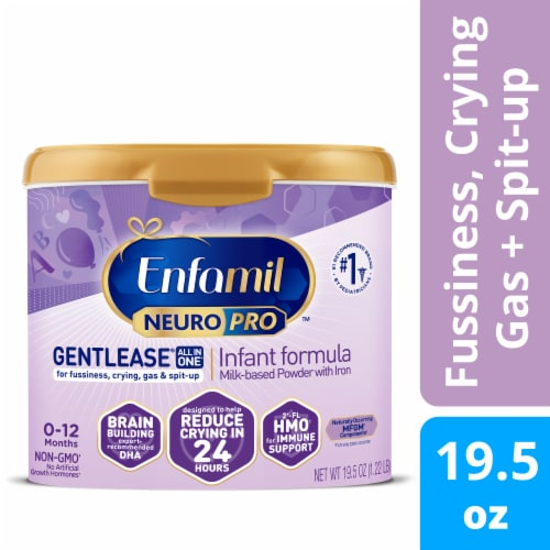 Enfamil NeuroPro Gentlease Powder Infant Formula Perspective: front