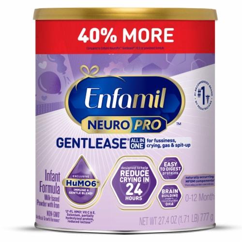 Enfamil NeuroPro Gentlease Infant Formula Milk-Based Powder Perspective: front