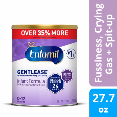 Enfamil Gentlease Infant Formula Powder Perspective: front