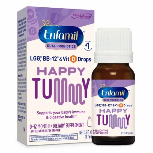 Enfamil Probiotic Vit D Probiotics Perspective: front