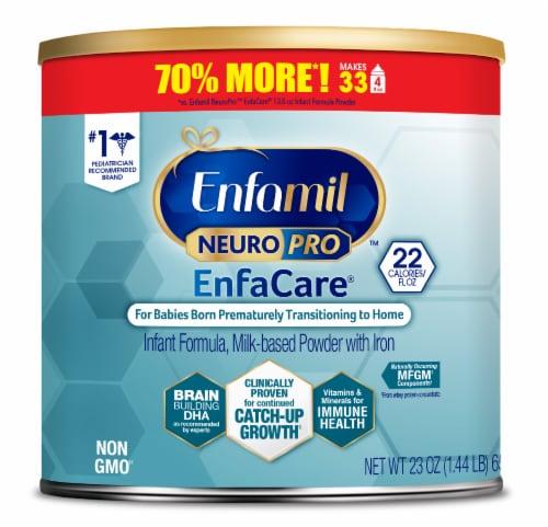 Enfamil NeuroPro EnfaCare Powder Infant Formula Perspective: front