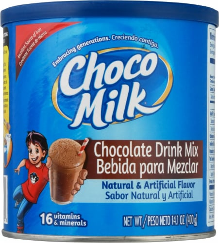 Choco Milk Chocolate Drink Mix Perspective: front