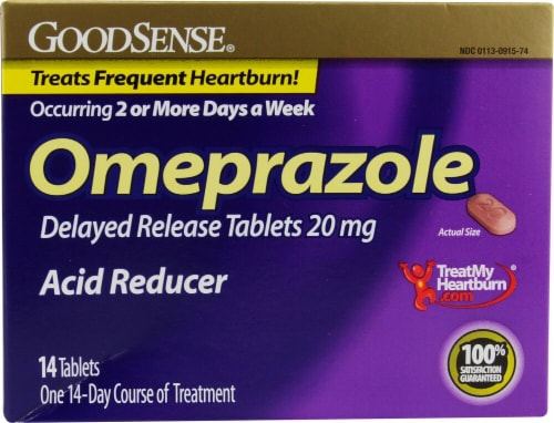 Good Sense  Imeprazole Acid Reducer Perspective: front