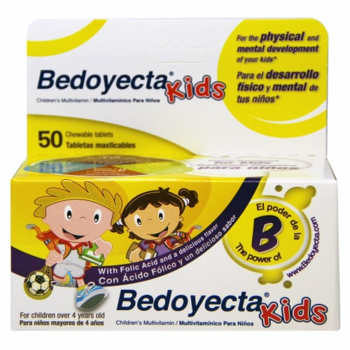 Bedoyecta Kids Multivitamin with Folic Acid Perspective: front