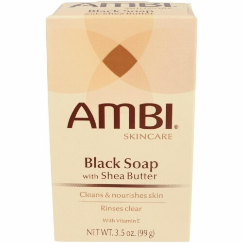 Ambi Black Soap with Shea Butter Perspective: front