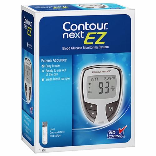 Contour Next EZ Blood Glucose Meter Perspective: front