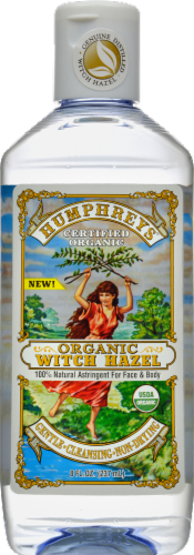 Humphrey's Organic Witch Hazel Astringent Oil Perspective: front