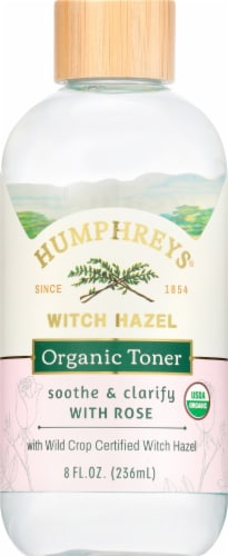 Humphrey's Alcohol-Free Witch Hazel Toner with Rose Perspective: front