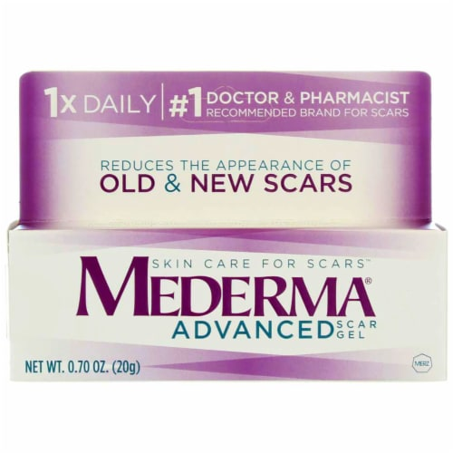 Kroger Mederma Advanced Scar Treatment Gel 0 7 Oz