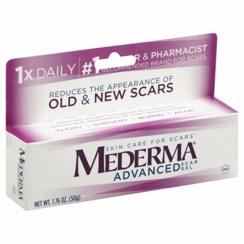 Mederma Advanced Scar Gel Perspective: front