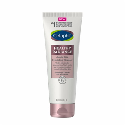 Cetaphil Healthy Radiance Gentle Pha Exfoliating Cleanser Perspective: front