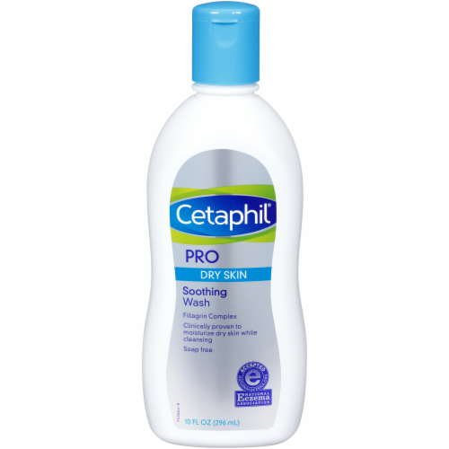 Cetaphil Pro Dry Skin Soothing Wash Perspective: front