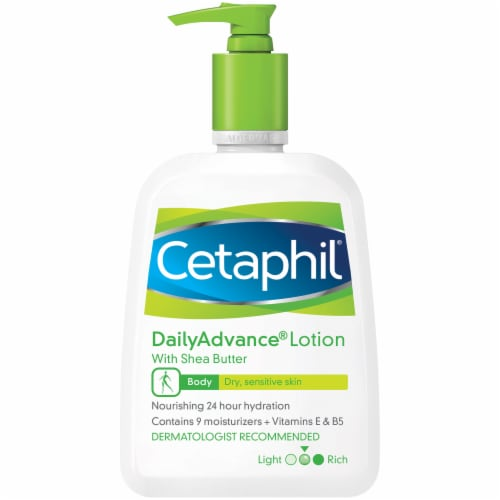 Cetaphil DailyAdvance Ultra Hydrating Shea Butter Lotion Perspective: front