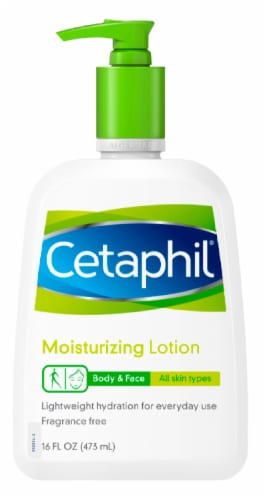 Cetaphil Body & Face Moisturizing Lotion Perspective: front