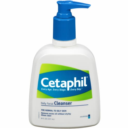 Cetaphil Daily Facial Cleanser Perspective: front