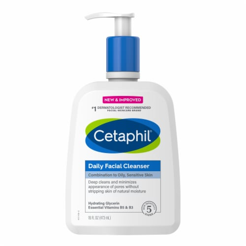 Cetaphil® Daily Facial Cleanser Perspective: front