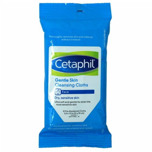 Cetaphil Gentle Skin Cleansing Cloths Perspective: front