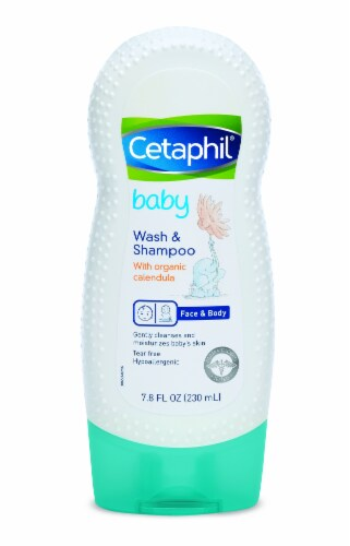 Cetaphil Baby Face & Body Wash & Shampoo Perspective: front