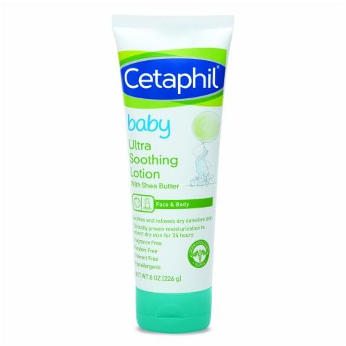 Cetaphil Baby Ultra Soothing Lotion with Shea Butter Perspective: front
