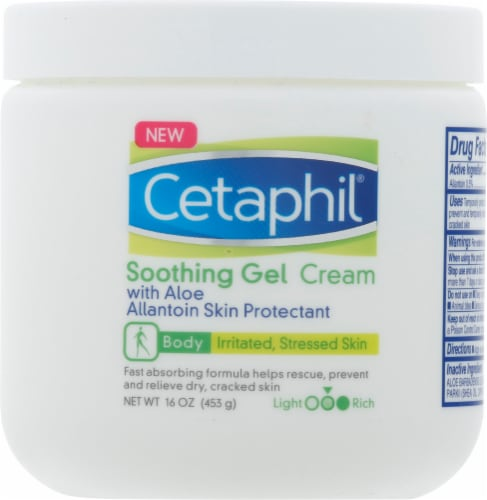 Cetaphil Soothing Gel Cream Perspective: front