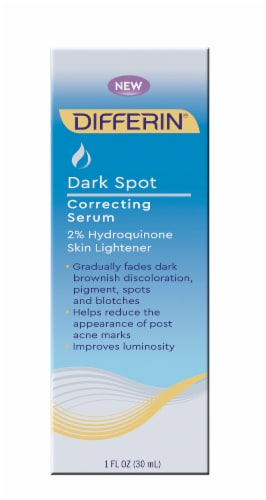 Differin Dark Spot Correcting Serum Perspective: front