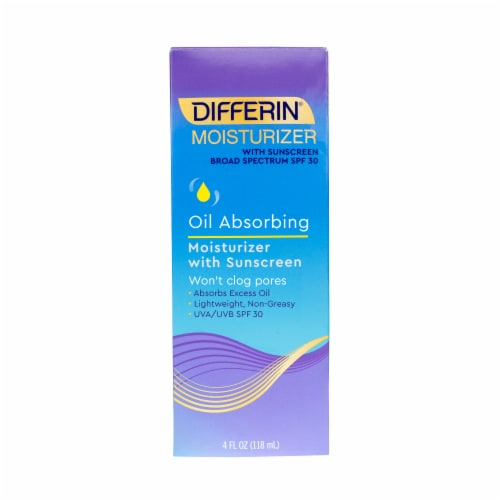 Differin Oil Absorbing Moisturizer with  SPF 30 Sunscreen Perspective: front