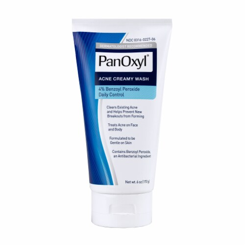 Panoxyl® Creamy Acne Wash Perspective: front