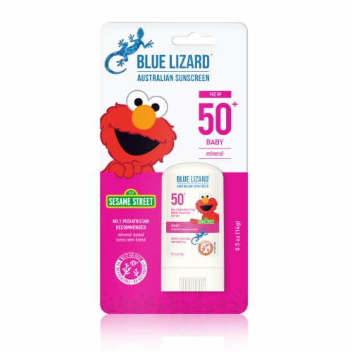 Blue Lizard Baby Mineral Sunscreen Stick SPF 50 Perspective: front