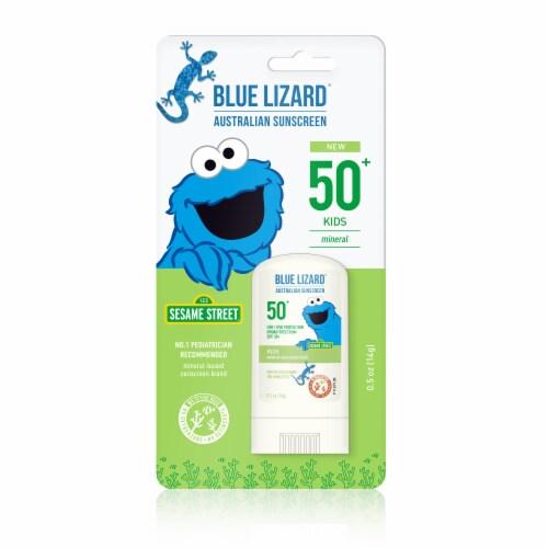 Blue Lizard Kids Mineral Sunscreen Stick SPF 50 Perspective: front