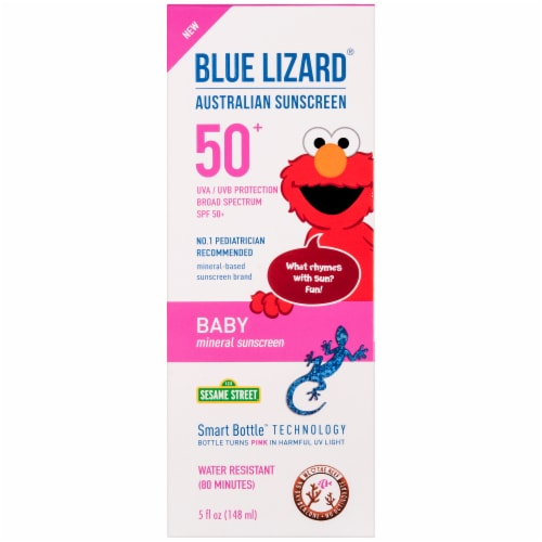 Blue Lizard Baby Mineral Sunscreen SPF 50 Perspective: front