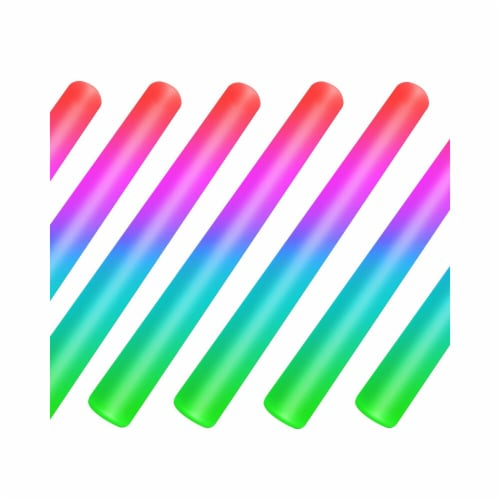 Blinkee Foam192Case Foam Cheer Stick with Lights, Multi Color - Case of 192 Perspective: front