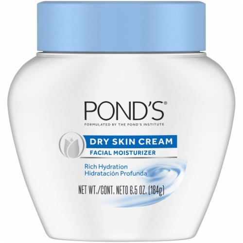 Pond's Dry Skin Cream Facial Moisturizer Perspective: front