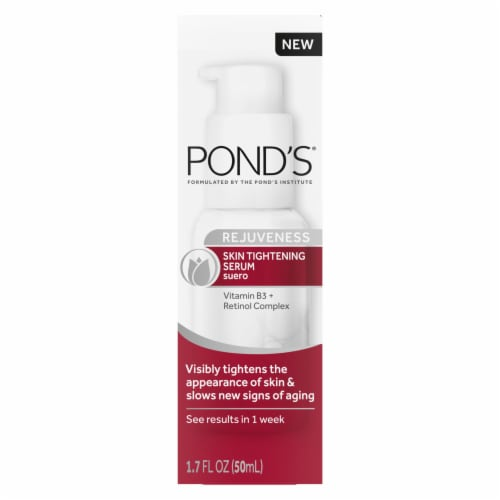 Pond's Rejuveness Skin Tightening Serum Perspective: front