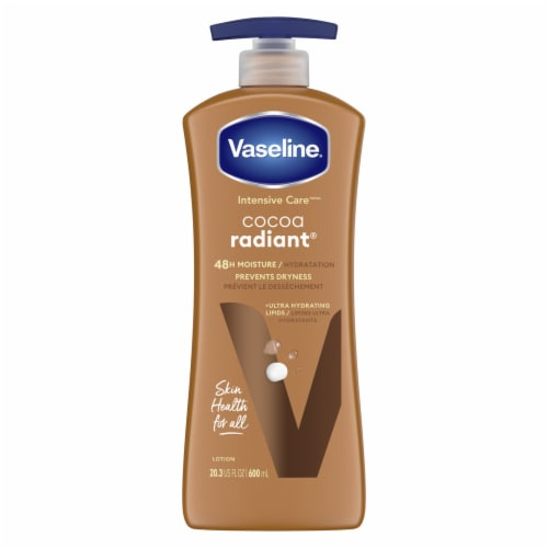 Vaseline Intensive Care Cocoa Radiant Body Lotion Perspective: front