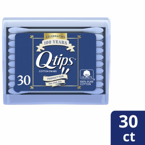Q-tips Cotton Swabs Purse Pack Perspective: front