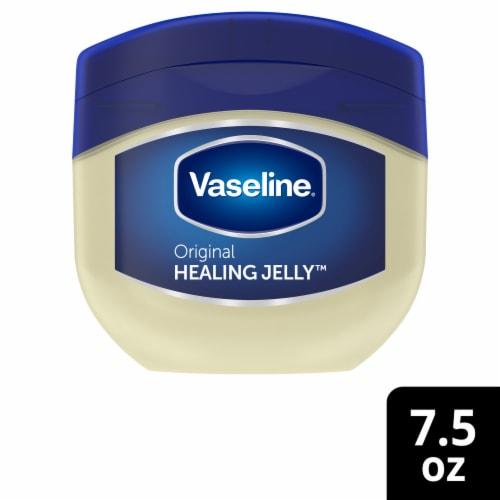 Vaseline Original Healing Jelly Petroleum Perspective: front
