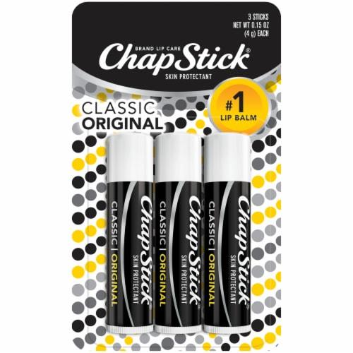 ChapStick Classic Original Lip Balm Perspective: front