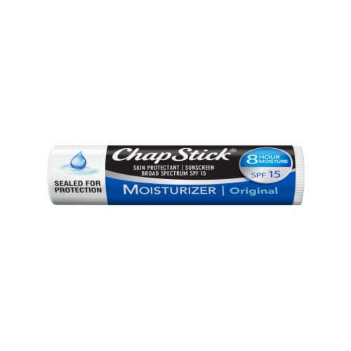 ChapStick® Original Moisturizer Lip Balm SPF 15 Perspective: front