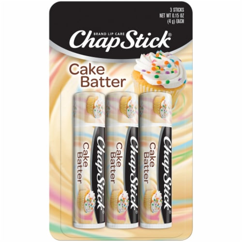 ChapStick Cake Batter Lip Balm Perspective: front