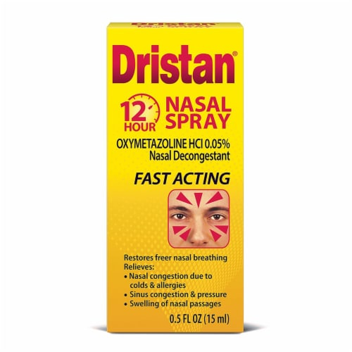 Dristan Fast Acting 12 Hour Nasal Spray Perspective: front